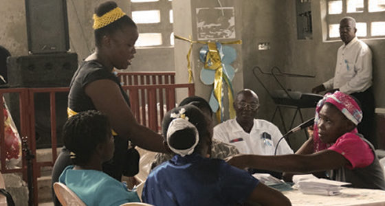 Helping Haitians Help Themselves